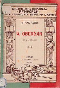 BIBLIOTECHINA-ILLUSTRATA-PER-LA-GIOVENTU-039-SOLDATI-POPOLO-V-CUTTIN-G-OBERDAN