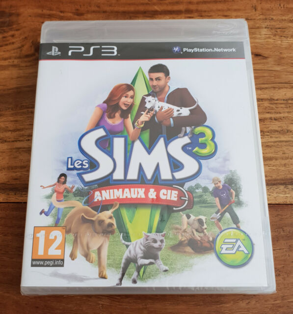 LES SIMS 3 ANIMAUX & CIE Jeu Sur Sony PS3 Playstation 3 Neuf Sous Blister VF