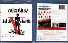 Blu-ray Matt Tyrnauer VALENTINO,THE LAST EMPEROR Fashion WS Region A/B/C OOP NEW