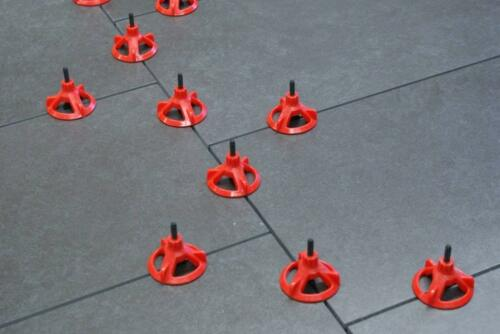Spin Doctor Tile Leveling System CAP 100 pc box Red