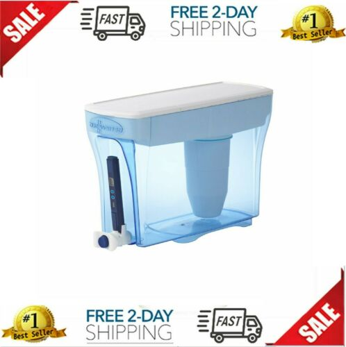 Zero Water Filter Pitcher Office Dispenser Ion Exchange 20-Cup Purified Home New