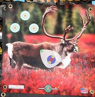 Archery Target -1500 Plus Shots Caribou With Scoring Zone 17x 17
