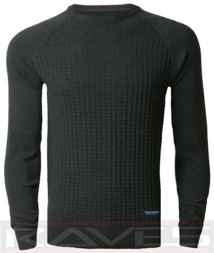 Pull Homme Hiver Ras Du Cou Tricot Pull-over threadbare imu006