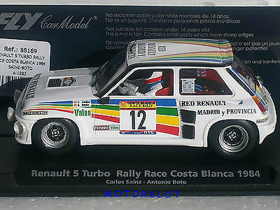 FLY- 88169 A-1203 RENAULT 5 TURBO RALLY RACE COSTA BLANCA 1984