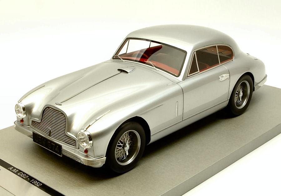 Aston Martin db2 Coupe' 1950 English Plata 1 18 Model Tecnomodel