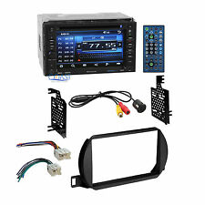 Planet Audio Car Stereo 2 Din Dash Kit Wire Harness for 2002-04 Nissan Altima