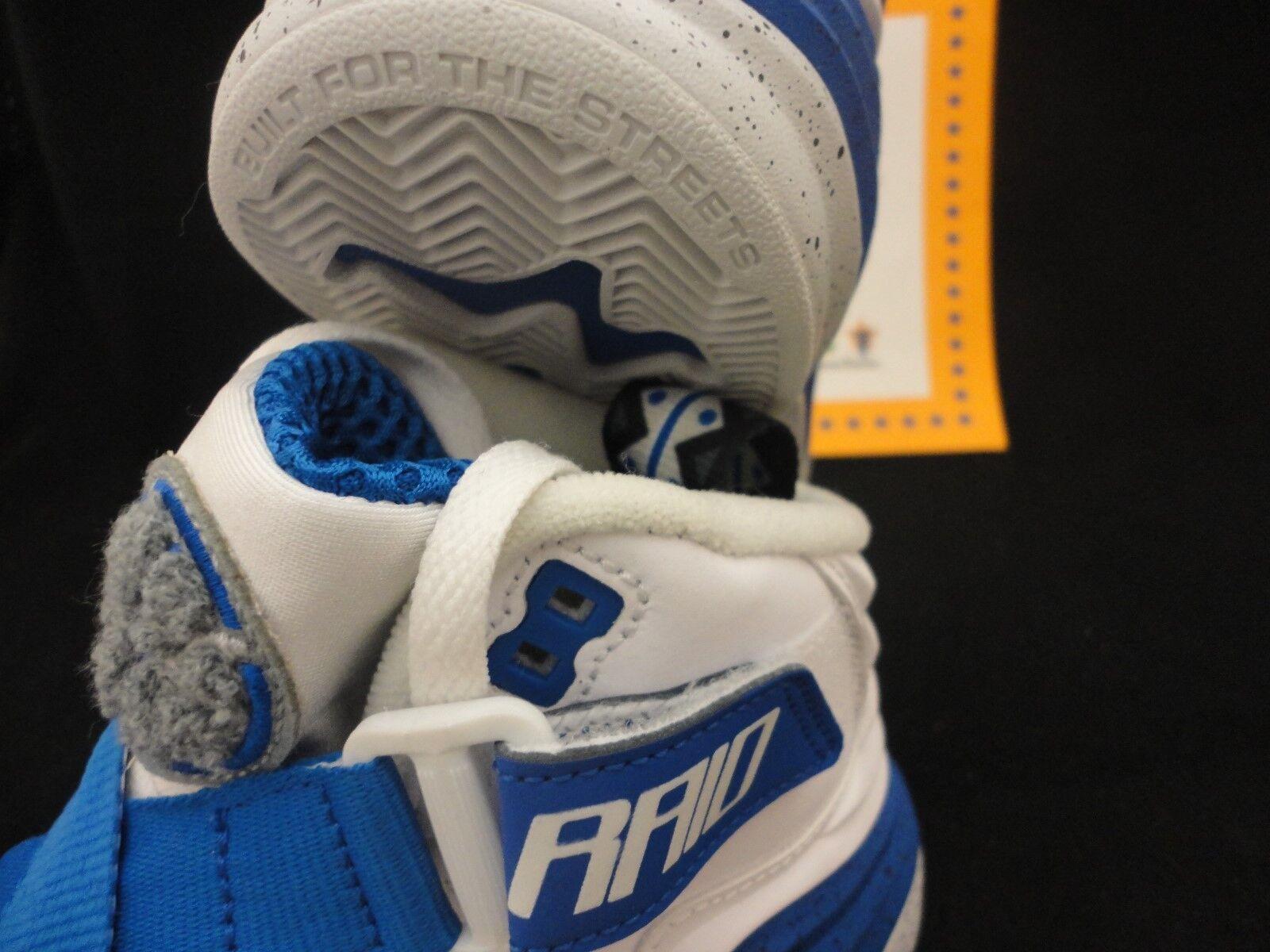 Nike Lunar Raid, White / Game Royal / Pure Platinum, Retail 145, Size 8