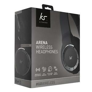 cb0287517b0 Image is loading Kitsound-Arena-Wireless-Bluetooth-Headphones-with-Mic-and-