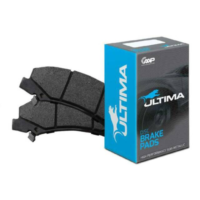 Ultima Front Brake Pads Suited For - Hyundai Accent LC, LS, Excel 90 - 00, Getz
