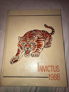 1986-GRISSOM-HIGH-SCHOOL-YEARBOOK-HUNTSVILLE-ALABAMA-INVICTUS-Tigers