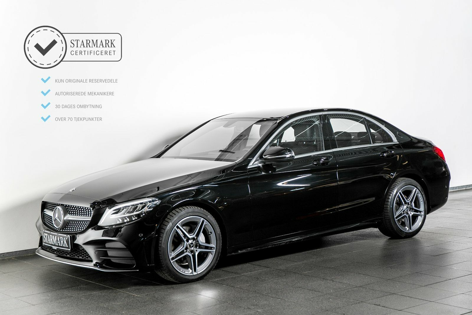 Mercedes C220 d 2,0 AMG Line aut. 4d - 469.900 kr.