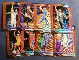 2018-19-Panini-Prizm-Basketball-Red-Ruby-Wave-Refractor-1-300-A-Z-You-Pick