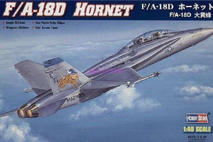 Hobbyboss 80322 1 48 F A-18D Hornet