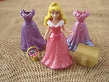 Polly Pocket Disney Princess MagiClip Dress Sleeping Beauty Aurora Magic Clip S3