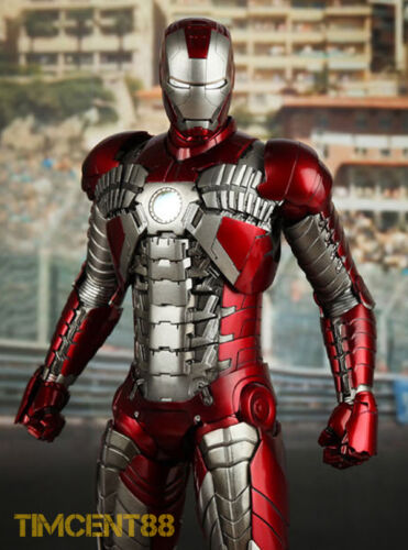 Ironman Mark 5 V 1//6  Figure New Hot Toys MMS145 Iron Man 2 Ready