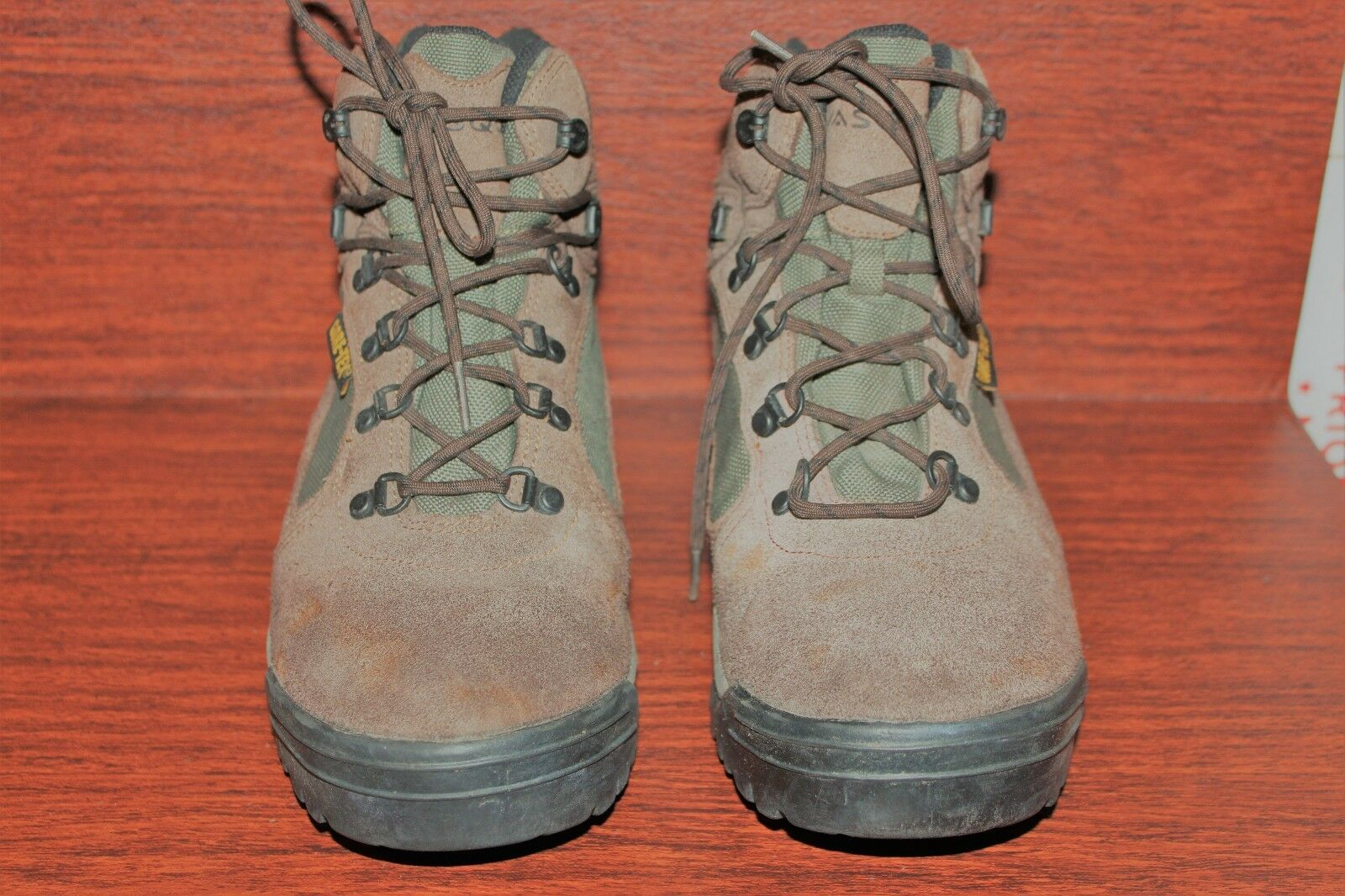 VASQUE RANGER 7210 SUEDE GTX HIKING stivali uomo Dimensione 10 MEDIUM