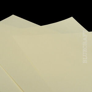 100-sheets-x-Ivory-Premium-Quality-A4-Printer-Craft-Paper-80gsm