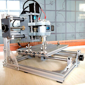 Details about CNC Router Mini 3Axis DIY Engraving Machine 24V Wood PCB CCL  Aluminum Engraver