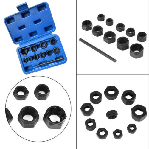 Car Auto Damaged Rusted Lug Nut Lock Remover Socket Screw Extractor Hand Tools