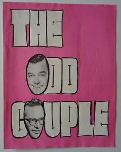 Program The Odd Couple 1967 Gig Young Kenley Players Columbus Ohio Robert Lewis