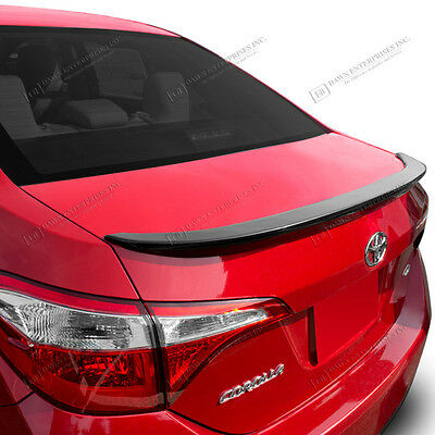 Spoiler PAINTED Wing Factory Style Flush Mount For: TOYOTA COROLLA 2014-2017
