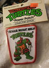 New 1989 Vintage Teenage Mutant Ninja Turtles Raphael Power iron on sew Patch
