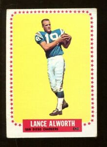 Lance-Alworth-1964-Topps-155-Chargers-VG-Ex-50002