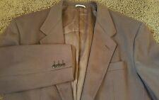 Beau Brummel M (42-44) Brown Wool/Cashmere Jacket Sport Coat  Italy 2 Button EUC