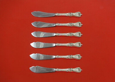 """Other Antique Furniture Furniture Practical Old Colonial By Towle Sterling Silver Trout Knife Set 6pc Hhws Custom 7 1/2"""" Preventing Hairs From Graying And Helpful To Retain Complexion"""