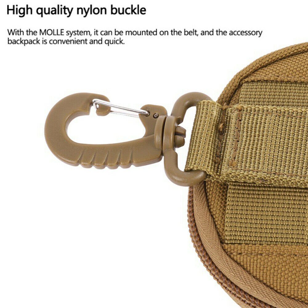 1pc Key Pouch Convenient Key Holder Bag Key Storage Container for Camping