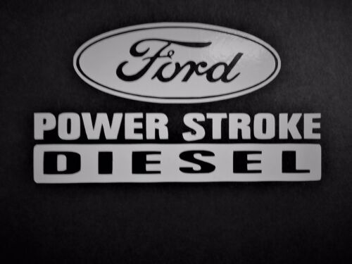 Ford Powerstroke Vinyl Decal for laptop windows wall car boat