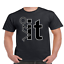 F-k-It-Funny-College-Party-T-SHIRT-humor-stick-man-Tee thumbnail 2