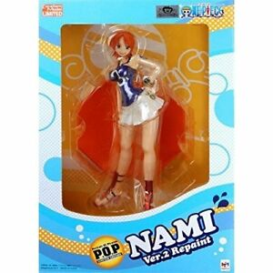 Excellent Model P.O.P One Piece LIMITED EDITION Nami ver 2 Blon... FROM JAPAN