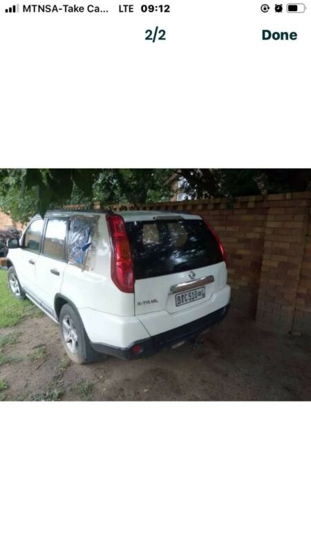 Nissan xtrail stripping for parts