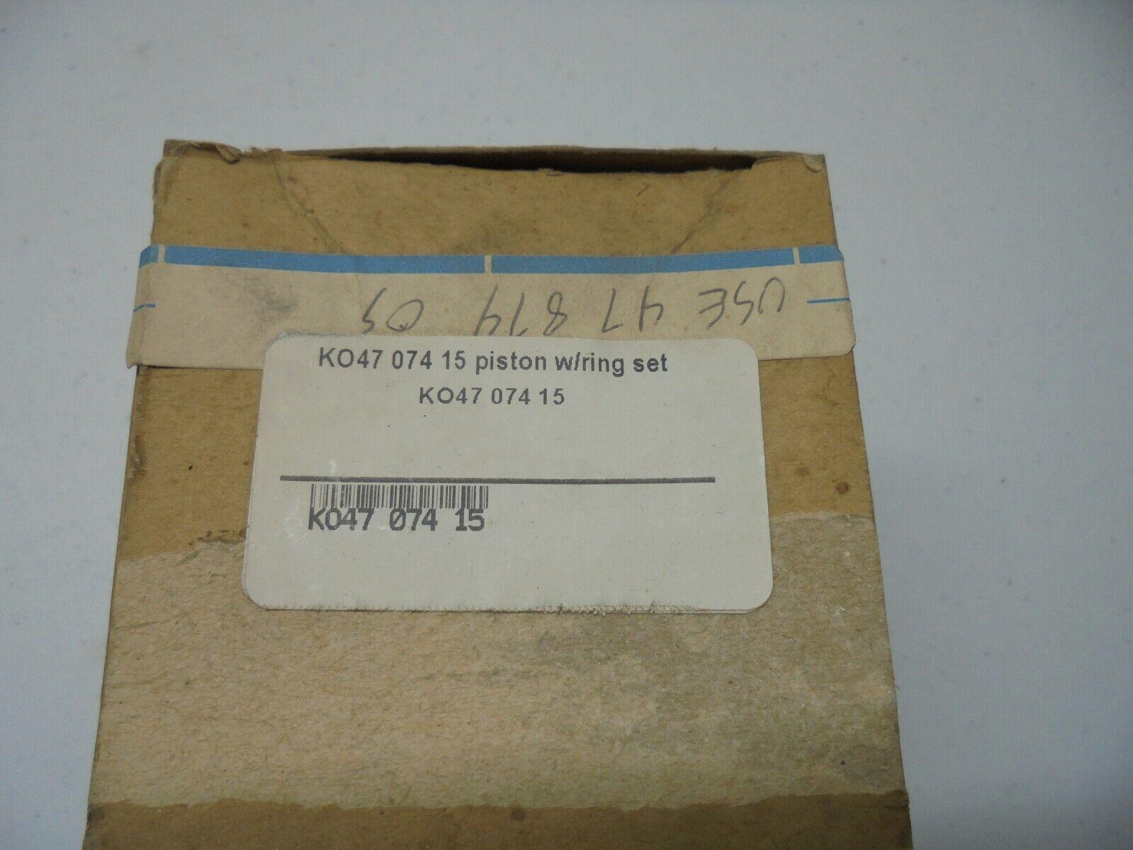 Original Equipment Manufacturer Kohler Pistón Parte   47-074-15