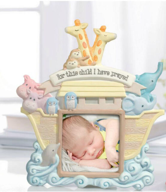 Grasslands Road Baby Noahs Ark Photo Frame For This Child I Have