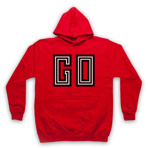 GO MOBY UNOFFICIAL RAVE DANCE DJ ALBUM ELECTRONICA LOGO ADULTS /& KIDS HOODIE