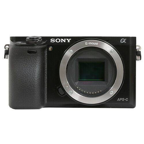 Sony Alpha a6000 Mirrorless 24.3MP Digital Camera Body Black