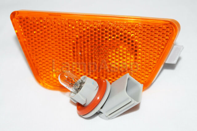 Front Side Marker Parking Light Lamp w//Bulb Driver Side fit 2011-15 Chevy Cruze