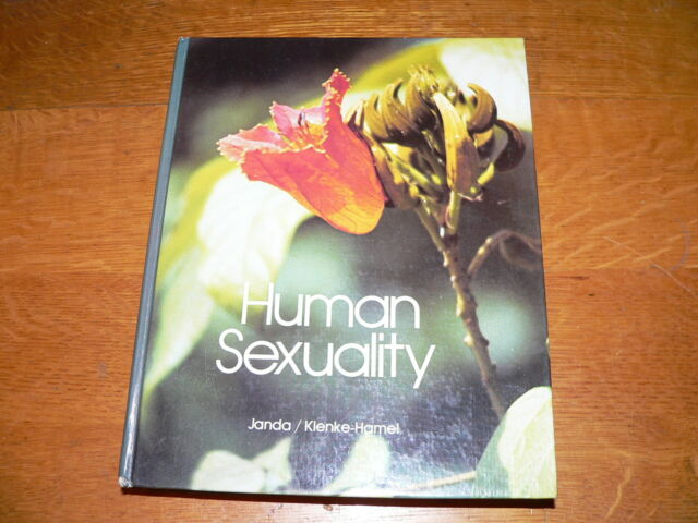 "Vintage ""Human Sexuality"" Book by Janda & Klenke-Hamel~1980 HC 1st Edition"