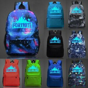 2019-Battle-Royale-Backpack-Rucksack-School-Bag-GLOW-IN-DARK-Pencil-CASE-Bag-UK
