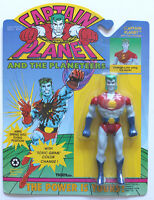Captain Planet & The Planeteers W/color Change Tiger Toys 1991 Free Case