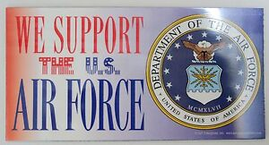 We-Support-United-States-Air-Force-Car-Magnet-Made-In-The-USA-Military-Airmen