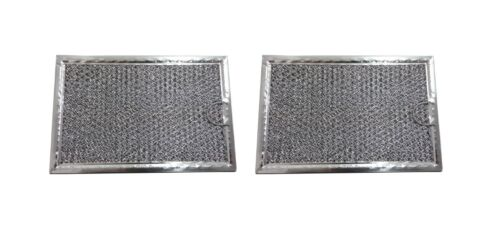 2 Microwave Hood Vent Filters Grease Filter 5 x 7 5//8 x 3//32