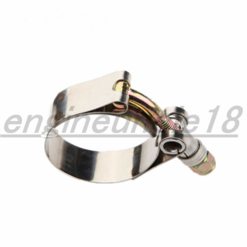 "1/"" //1.5/""//2/""//2.25/""//2.5/""// 3/"" Stainless Steel Turbo Pipe Hose Coupler T-bolt Clamp"