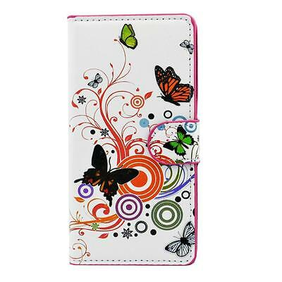 Color PU Leather Wallet Slot Flip Stand Skin Case Cover For Sony Xperia Z2 D6503