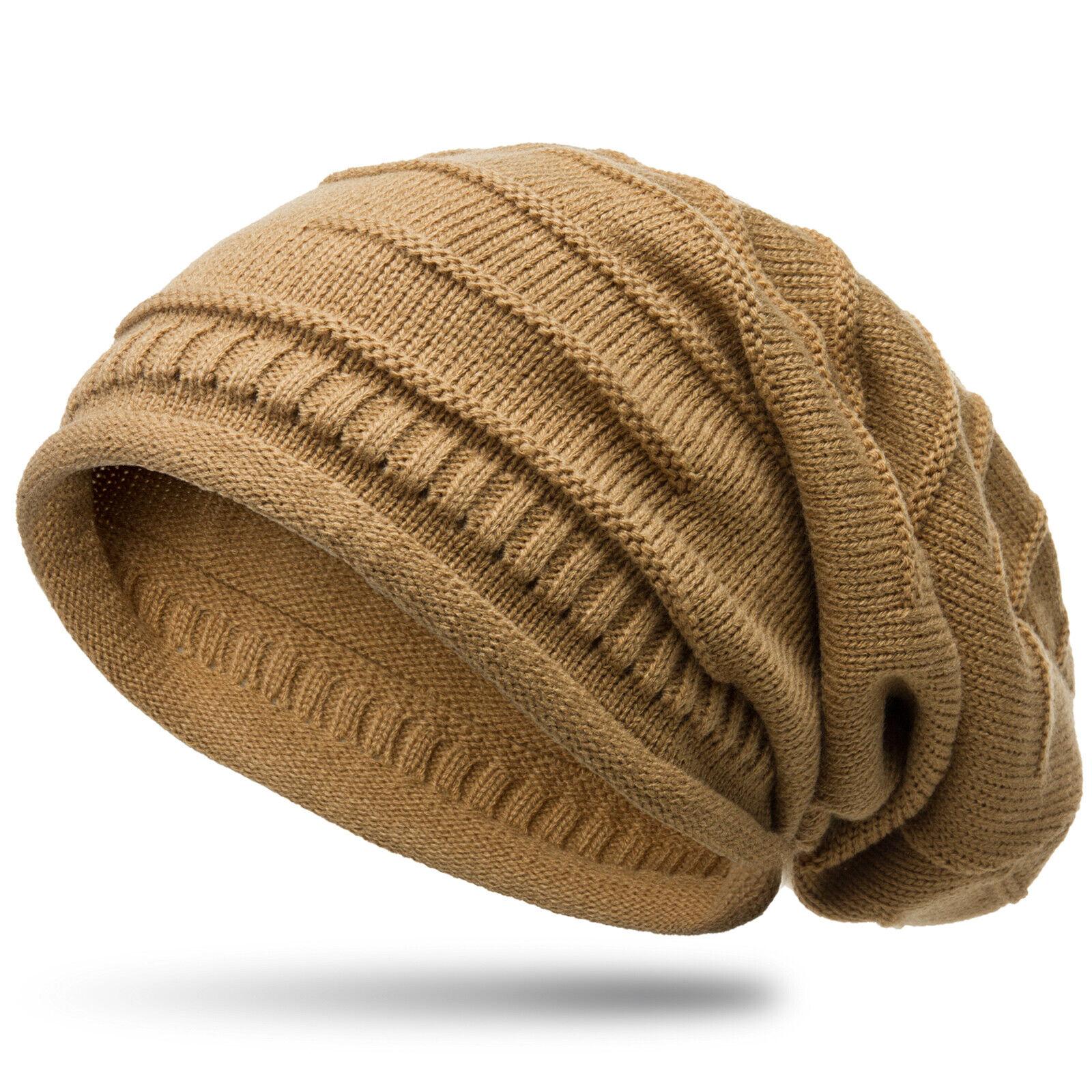 CASPAR MU079 Unisex Men Women Knitted Hat Slouch Beanie Simple Classic NEW