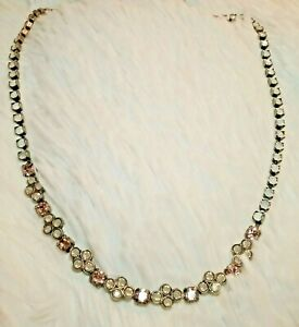 NEW-amp-RETIRED-Sorrelli-034-PINK-PEONY-034-Necklace-PRETTY