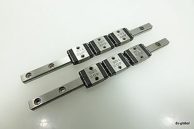 LWLF18+310mm Used IKO Miniature LM Guide THK RSR9W 2Rail 4Block Linear Actuator