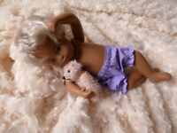 Bjb Dolls Clothes, Light Purple Knickers Pants Fit 11 Sasha Baby Girl Doll